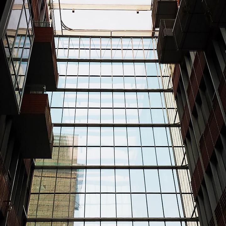 上海国际航运中心玻璃幕墙